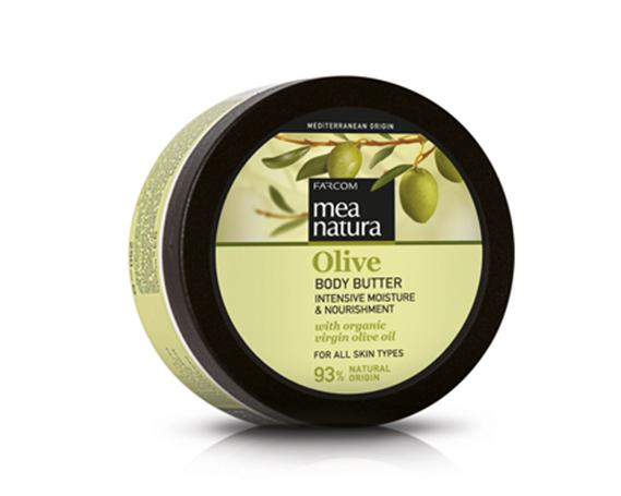 Farcom MEA NATURA Olive Увлажняющее и питательное масло для тела с оливковым маслом 250 мл.